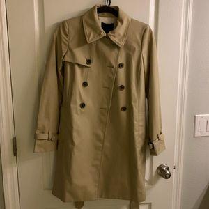J. Crew Trench Coat size 0-2